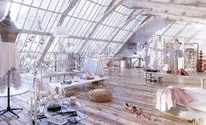 feminine-loft-design