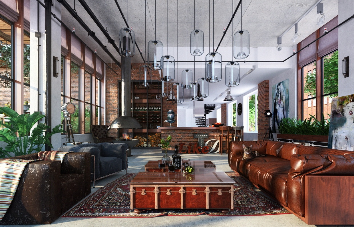 Delicieux Eclectic Design U2013 Source: Http://www.home Designing.com/2016/05/4 Lofts  That Whisk You Away To A Fabulous Life
